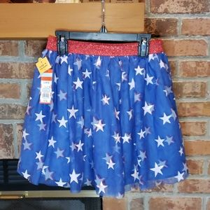 NWT Cat & Jack Stars Tulle Skirt
